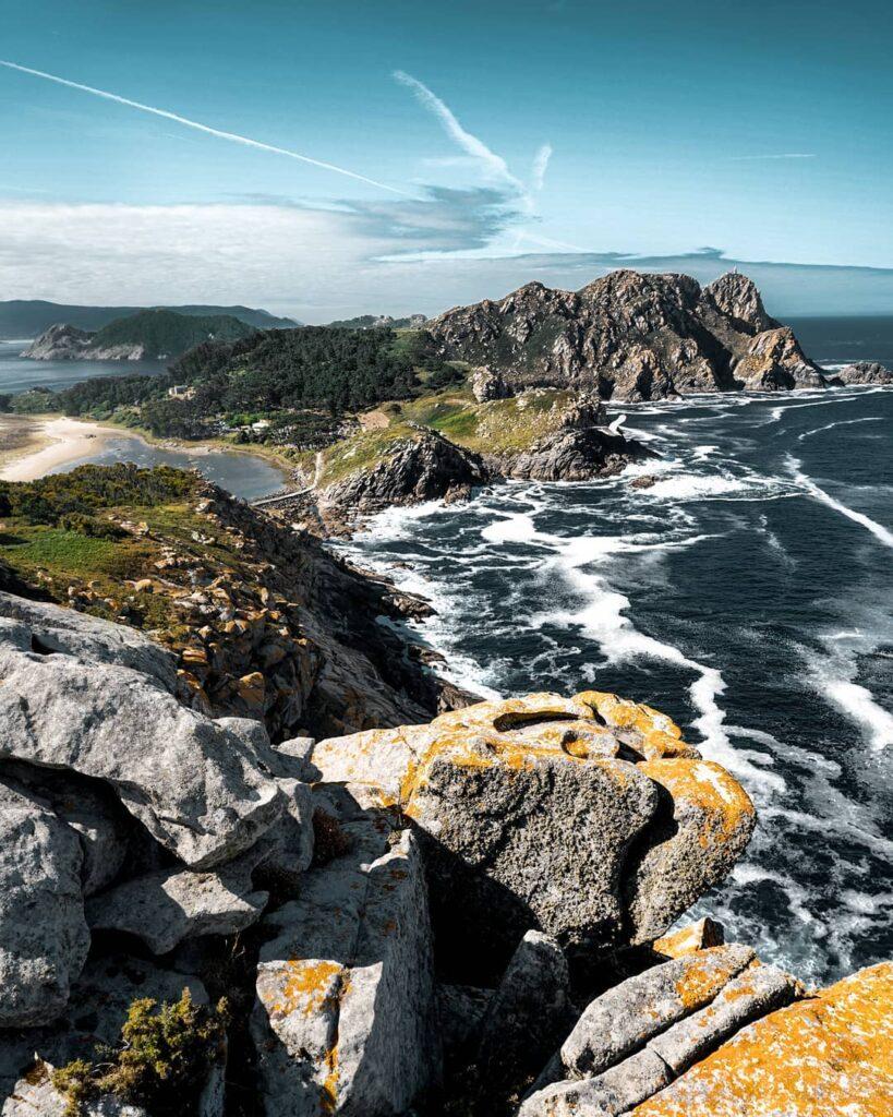 Cíes Islands landscape