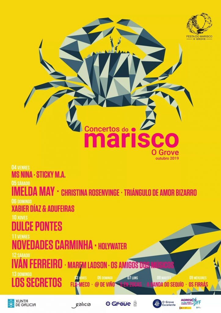 O Grove seafood festival concerts